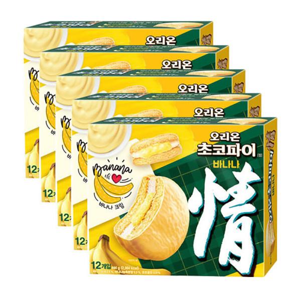 초코파이 바나나 444gx3개 상품이미지