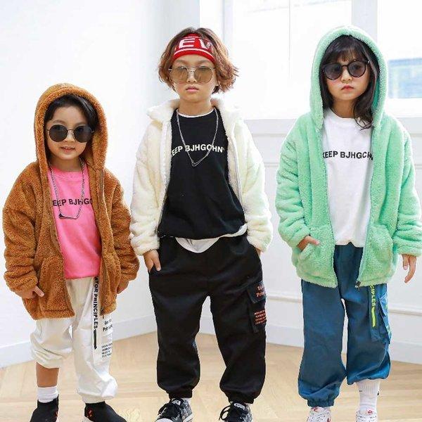 유아 아동 후드집업 점퍼 꼬맹 뽀송후드집업 상품이미지