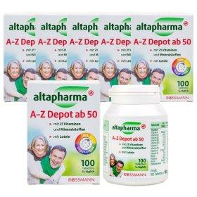 알타파마 A-Z 멀티비타민(시니어) 100정 x6통