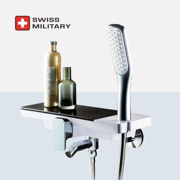 (핫트랙스) 스위스밀리터리 선반형 샤워수전 (샤워기거치 일체형) 상품이미지