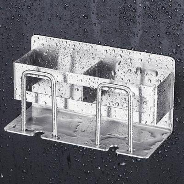 (핫트랙스) 메탈 욕실 칫솔 거치대 걸이 꽂이 홀더 통 (2인용) 상품이미지