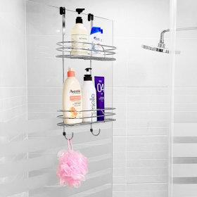 샤워부스 욕실선반 2단 욕실/선반/수납