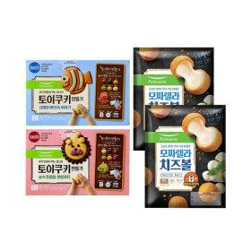 아이간식세트(토이쿠키 2박스+모짜렐라치즈볼2봉)