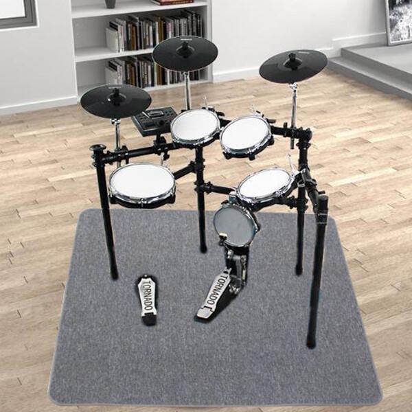 (현대Hmall)드럼 카페트 1.3m x 1.32m 전자드럼 매트 카펫 상품이미지