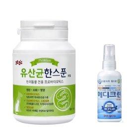 38.5 유산균 한스푼 + 메디크린 100ml 살균소독제