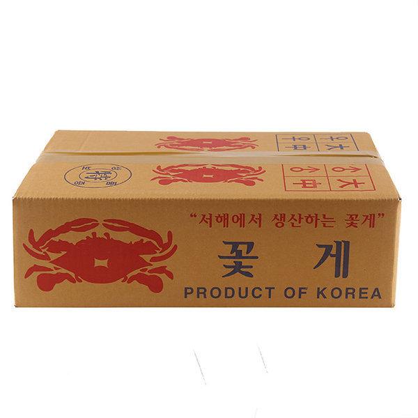 (전단상품)제철맞은 가을꽃게 국산  box 3kg 상품이미지