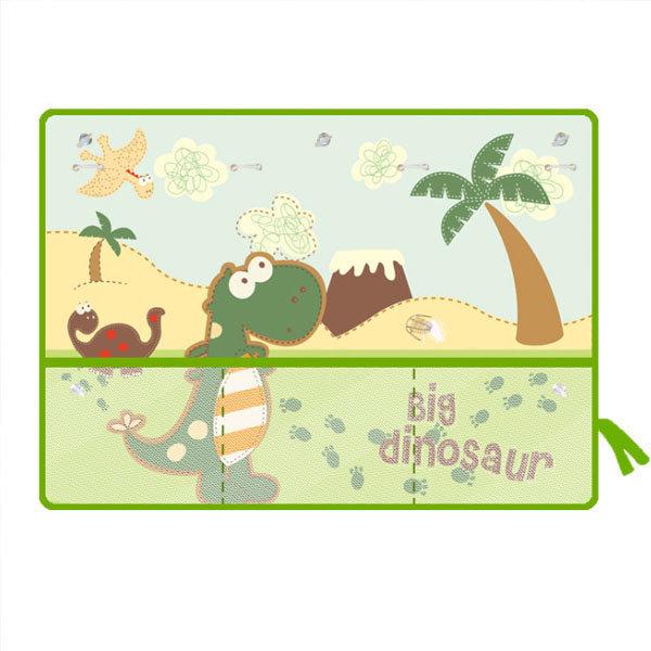 (공룡) 수납 유아커튼 햇빛가리개/차량용/자동차 상품이미지