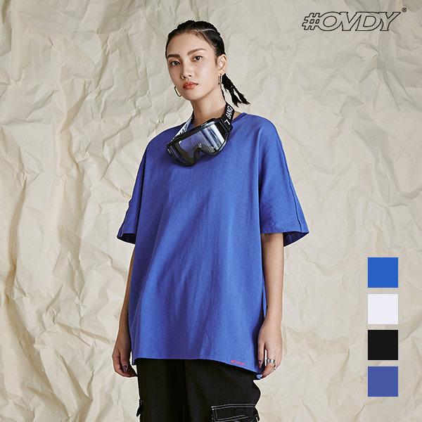 OVDY 뒷면 아웃 오버로크 기본 반팔 티셔츠 DYMASVM 상품이미지