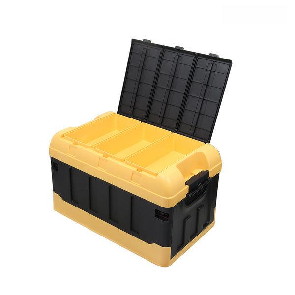 카렉스 접이식 폴딩 트렁크정리함 70L (옐로우) 상품이미지