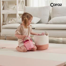 Secret Pink Wide 4-panel Folder Mat/Playroom Mat