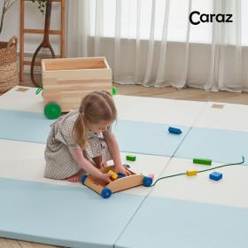 Secret blue wide 4-panel folder mat/Playroom mat