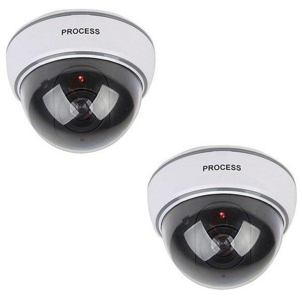 모형CCTV 감시카메라 IN11C 리얼 돔형 1+1 상품이미지