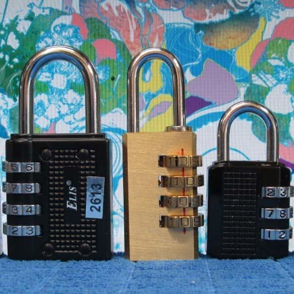 C171/번호자물쇠/3종/다이얼자물쇠/자물쇠/번호열쇠 상품이미지