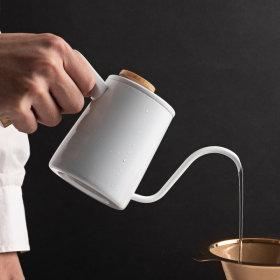 홈카페 캠핑용품 브루오 핸드 드립 커피 주전자 350ml
