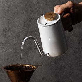 홈카페 캠핑용품 브루오 핸드 드립 커피 주전자 600ml