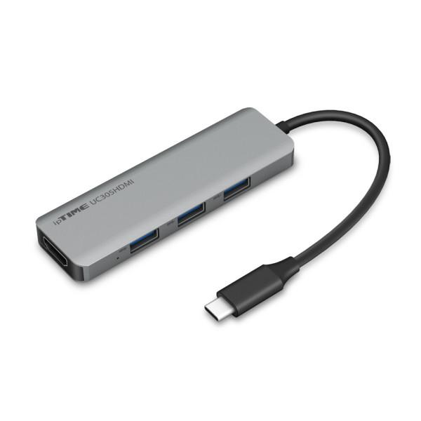 아이피타임 ipTIME UC305HDMI 5in1 USB3.0 TypeC 허브 상품이미지
