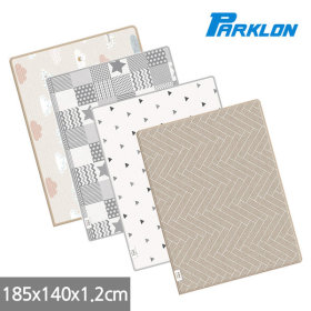 Sillky Playroom Mat Living Room Play Inter-floor Noise Prevention 185x140x1.2