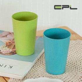 친환경 밀컵 에코 위트컵  400ml 1+1행사 색상랜덤