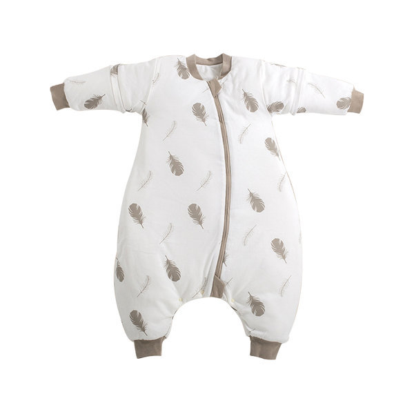 아동 가을 슬리핑 백 유아 베이비 잠옷 실내복 면120g 상품이미지