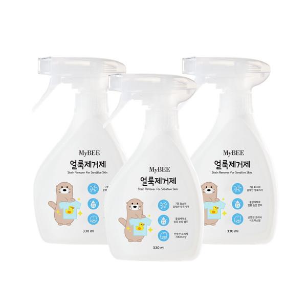 마이비 자연품은 아기 얼룩제거제(330ml)x3개 상품이미지
