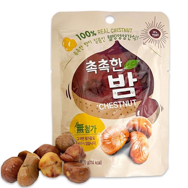 촉촉한 밤 디저트 간식 70g/크리스피롤/안주/주전부리 상품이미지