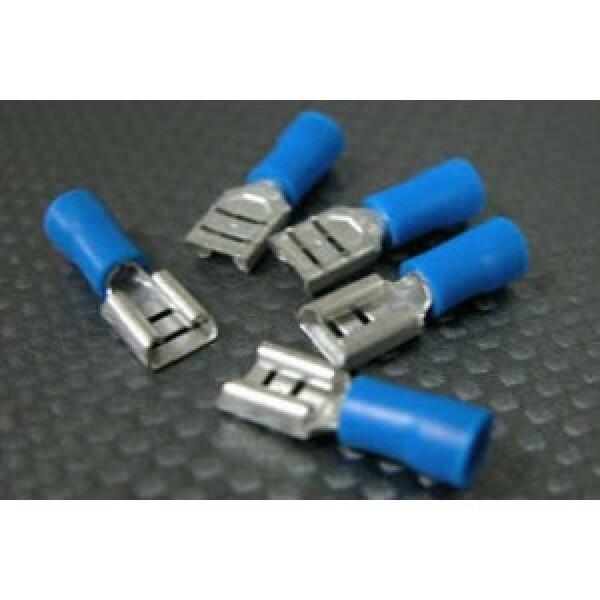 암놈 넙적단자(PG리셉터클) 3mm5mm6mm(5개 한세트) 암놈배선커넥터 각종DIY 상품이미지