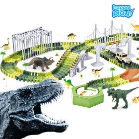 장난감 레일 공룡대탐험 다이노트랙 베이직 220+사은품
