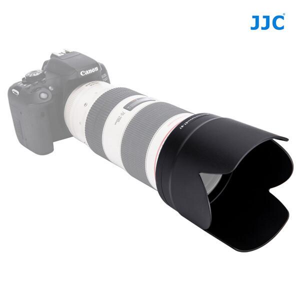 JJC 후지필름 원형 렌즈 후드 LH-87 화이트/블랙 상품이미지