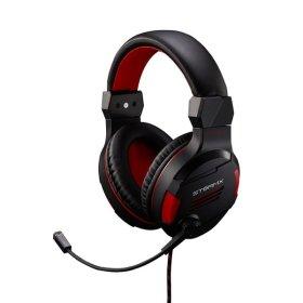 STORMX H1 게이밍 게임용 가성비 헤드폰 헤드셋 레드