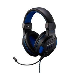 STORMX H1 게이밍 게임용 가성비 헤드폰 헤드셋 블루