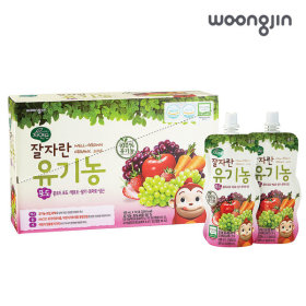 코코몽 잘자란유기농 포도파우치 100ml 10입 x5(50입)