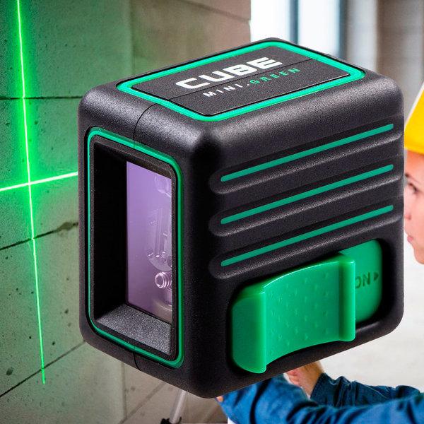 미니 큐브 레이저 레벨기 그린 수직 수평기 라인레벨 상품이미지