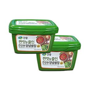 신송 짠맛을줄인 건강한 양념쌈장 500g