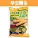 무배 크리스피롤 12곡 180g/옛날과자/보리건빵/전병