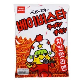 Baby Star chicken-flavored Ramen 90g/Pringles/Poca chip/Ramen Chan