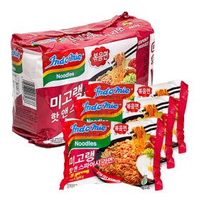 Mi goreng Hot n Spicy Noodle 400g/Jumbo Noodles/Cup Noodle/Jin Ramen