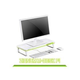 ZIGNUM M-DESK F1 다기능 모니터 받침대 스탠드 핑크