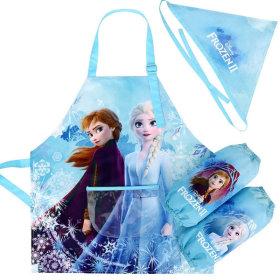 겨울왕국2 윈터 앞치마세트 아동 여아 어린이 미술