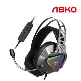 앱코 N810 ENC 가상 7.1 진동 노이즈 캔슬링 마이크 3D 게이밍헤드셋