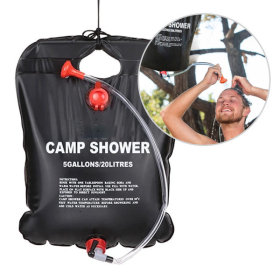 캠핑 샤워기 20L 캠프 샤워 샤워백 야외 간이 물통