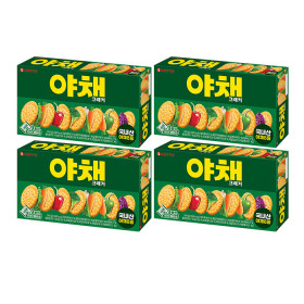 LOTTE Vegetable Crackers 249gx4pcs