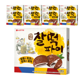 LOTTE Myeongga Glutinous Pie 375gx8pcs 1BOX