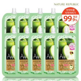 Nature REPUBLIC Hand  Nature Sanitizer Hand Sanitizer Spout Apple 10ea