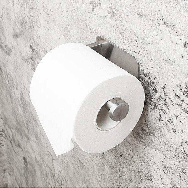 접착식 모던 스텐 휴지걸이/욕실걸이 수납 휴지홀더 상품이미지
