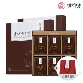 천지양 밀크씨슬 1500 고함량 밀크씨슬환 쇼핑백