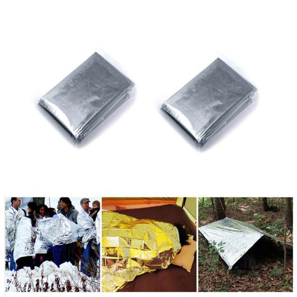 비상담요 다용도 바람막이 은박 반사판 응급용품 2개 상품이미지