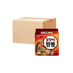 오징어짬뽕 멀티5개입X8개 총40개