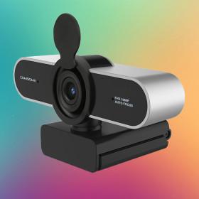 컴썸 PWC-500 컴퓨터 카메라 화상 USB 웹캠 실버