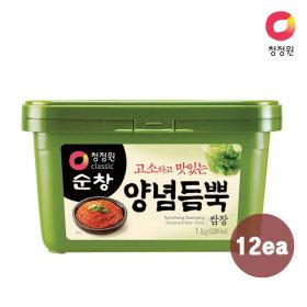 청정원 순창 쌈장 1kg x12개 (1box)