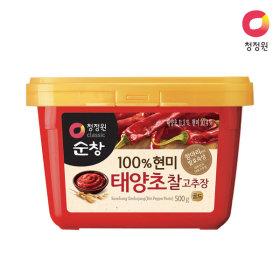 청정원 (현미)찰고추장 500g x20개 (1box)
